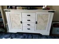 Lovely Upcycled Side Cupboard / Cabinet