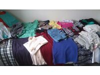 Clothes. Size 8. Trousers, jeans, tops, blouses, skirts, dresses, sports wear