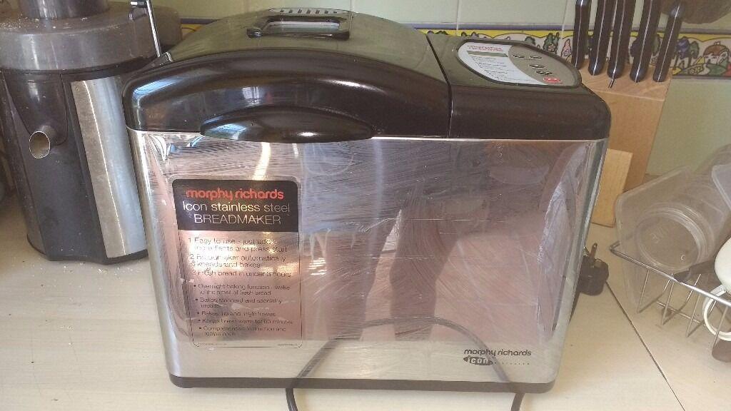 Morphy Richards Icon Stainless steel breadmaker