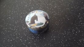 Goebel china trinket dish wih lid of R.Wachtmeister Cats