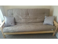 FUTON - Kyoto Nashville double futon, natural