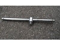 "Sliding T-Bar 400 mm Length for 3/4"" Drive Socket Set"