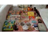 Job lot of approx 48 Car Boot Sale items. Including many Vintage