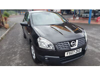 Nissan Qashqai Acenta / Private / Full service history / inside perfect / winter tyres/ sound system