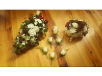 Beautiful artificial wedding flowers