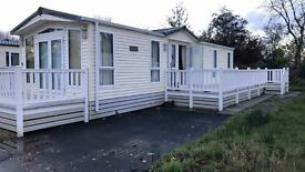 - Stunning Brentmere Plaza - includes Deck and 2017 Site fees Holiday Home Static Caravan Lodge