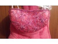 Pink Formal Dress size 8