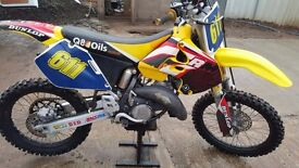2001 RM125 Excellent condition, not being used so priced for quick sale