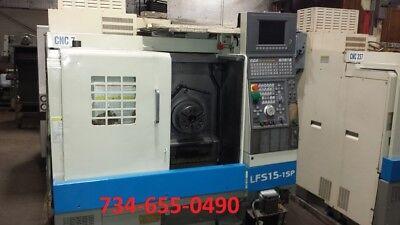 1997 Okuma Cnc Lathe With Osp 700l Control - Video - Under Power - Cheap