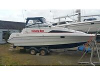 Bayliner Cierra 2651 Sports Cruiser with trailler and accessories.