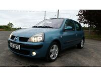 *!*LOW MILES*!* 2004 Renault Clio 1.2 16v Dynamique **MOT'd 1st APRIL 2019** *ONLY 2 OWNERS FROM NEW