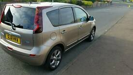 Nissan Note 1.4l n-tec petrol 11 months mot (low mileage)