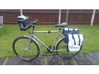 Commuting or touring bike