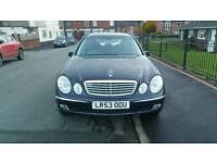 BARGAIN MERCEDES E320 ELEGANCE ESTATE AMG ALLOYS RETRACTABLE TOW BAR, SERVICE HISTORY LPG GAS