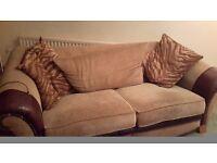 Free 3 & 2 seater sofas