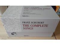 Schubert the complete songs (40 CD set)