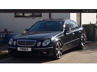 STUNNING AND RARE MERCEDES E500AMG , FSH,FULLY LOADED PAN ROOF ECT
