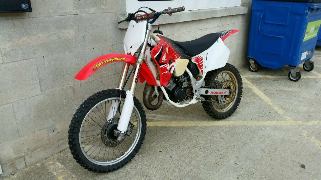 Honda Cr 125 1997 Motocross Cr125 In Portland Dorset