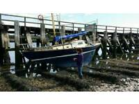 Classic British Folkboat in very good order