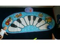 Baby piano play mat elc for sale