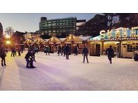 Festive Ice Rink in Bournemouth's Lower Gardens. We need Managers, skaters, ground team, bar staff..