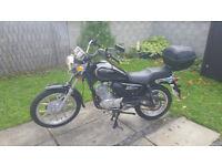 Jianshe Z6 js125-6C 125cc Learner Legal Motorbike £600 ono.