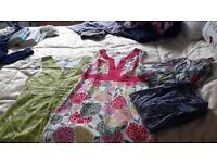 Boden dresses and Whitestuff tops bundle size 8