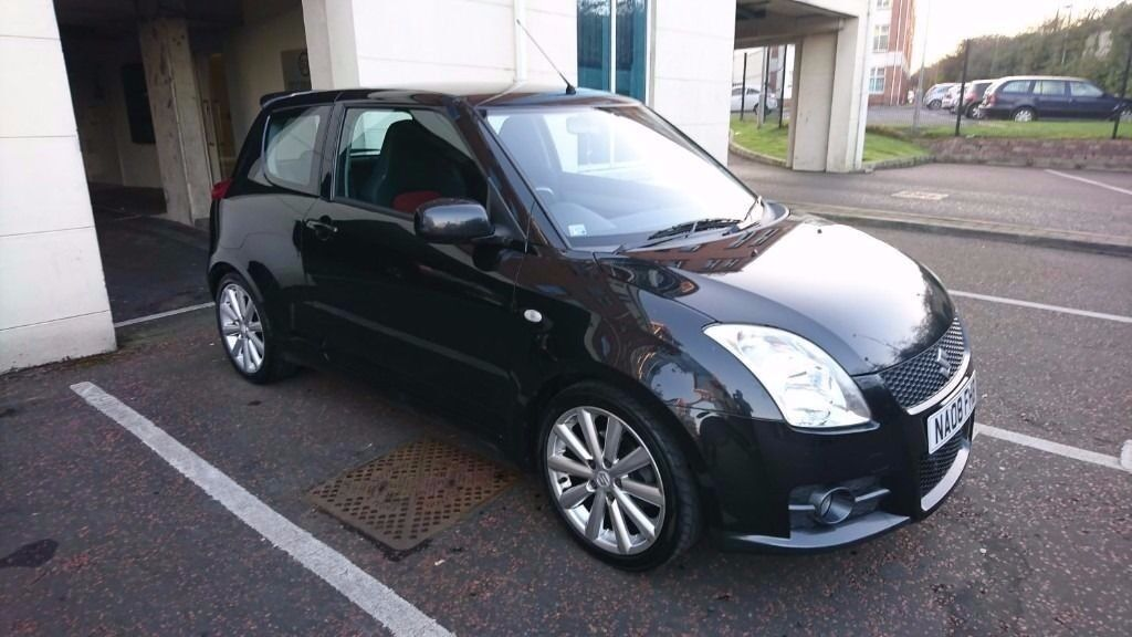 suzuki swift sport 2008 1 6 black in andersonstown belfast gumtree. Black Bedroom Furniture Sets. Home Design Ideas