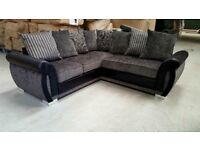 SOFA SALE PRICES : KAYA SOFA RANGE : STUNNING CORNER AVAILABLE IN 2 SHADES