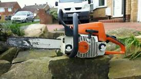 Stihl ms210 chainsaw