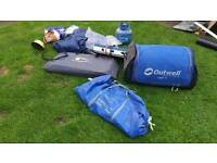 Outwell utah 4 tent with extas