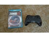 Wii U pro controller zombii u