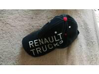 Dark blue cap. Renault trucks