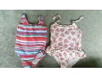 Monsoon swimming costumes age 2-3