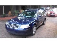 2005 Volkswagen Passat in very good condition inside and out start drives but in injector problems
