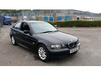 2004 (54 Reg) Bmw 318ti Compact For Sale, £895, Mot'd 05/10/2017 & 3 Months Warranty
