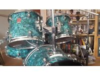 Premier 5 piece Drum Kit - Includes cymbals, stands & cases