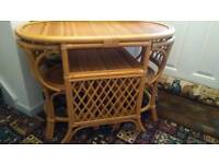 Conservatory or House Table with Two Chairs