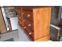 Chest of Drawers 3 drawers X 2