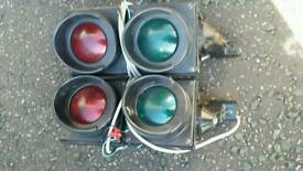 Retro traffic lights