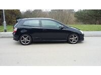 Black Honda Civic Type R with Facelift