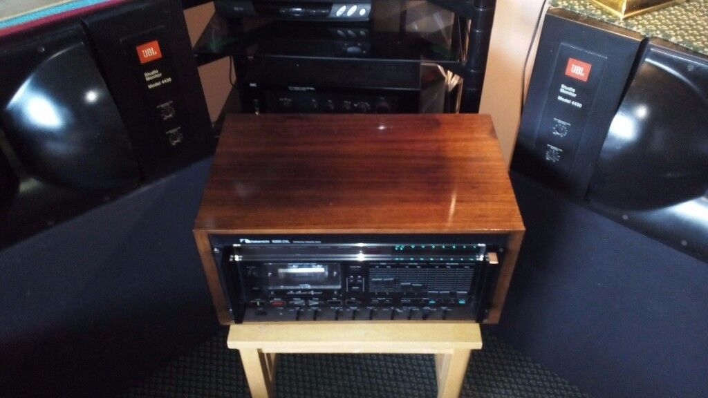Nakamichi 1000ZXL Computing Cassette Deck with User Manual