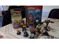 Bundle of skylanders figures