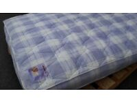 5ft king size ex-display, not used, mattress. Ortho firm feel matress.