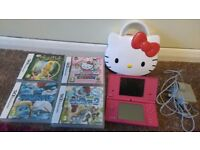 Nintendo Dsi , 4 games and carry case
