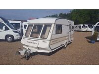 Bailey Pageant Cabriolet 1990, 2 berth caravan, cheap caravan, touring caravan