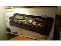 Teppanyaki Grill for fat-free grilling and frying
