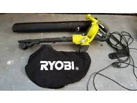Ryobi leaf blower/vacuum - nearly new - collection only