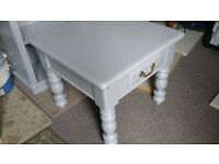 Coffee Table, Solid Wood, Painted Chalk Grey