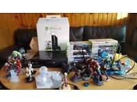 Xbox 360 500 GB & more than 20 games